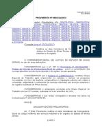 TJMG Resolução Corregedoria 260
