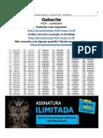 Gabarito 6ºsimulado Pc-df