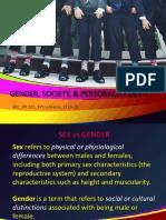 Slideshow on Gender and Socialization