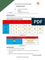 modelo de informe de master y jonson