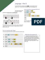 activity guide - human machine language - part 2  min-to-front by prakul sara and liying