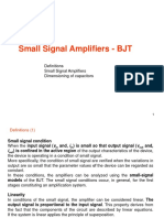 Small Signal Amplifier - BJT-1-25