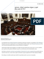 TC Disolución Del Congreso