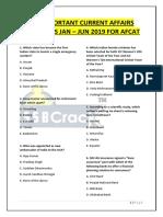 100 Important Mcqs for Afcat Ssbcrack