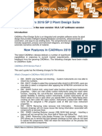Whats New in CADWorx 2019 SP2