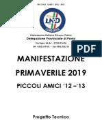 Progetto Manifestazione Piccoli Amici Primavera 2019 1