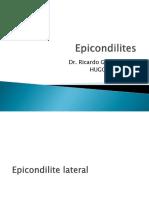 Epicondilite Lateral e Medial - add teste de Gardner e  Maudsley.ppt