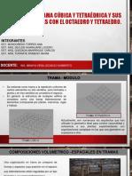Trama Cubica y Tetraedrica 1