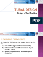 Week 12 - Design of Pad Footing_2
