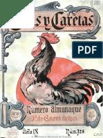 Caras y Caretas (Buenos Aires). 1-1-1906, n.º 378