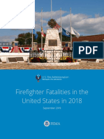 USFA Firefighter Fatalities 2018