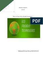 eco friendly technologies