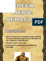The Labors of Heracles. Classroom