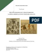 Relación de Michoacán y Códice Florentino Huella Medieval en Los Códices del siglo XVI