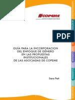 Guía para la Incorporación del enfoque de Genero en las propuestas