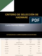 CRITERIO DE SELECCIÓN DE HADWARE.pptx