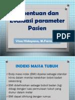 5. Penentuan Dan Evaluasi Parameter Pasien