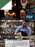 Portafolio Cursos Andes Bar Venezuela 2018
