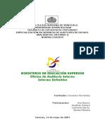 Informe Final FIM Productividad de La OAI (Definitivo 14 05 07)