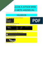 Vinculos a Sitios de Arte Medieval