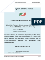 Technical Evaluation Report for ENREP Consultant