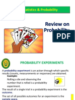 Powerpoint about probability experiment