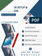 123 HP Printer Setup & Installation - 1 844-907-0604