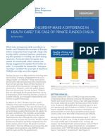 MEI study on entrepreneurship in healthcare