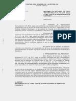 Informe Contraloria Recurso Protección Confianza Legitima