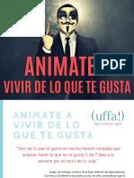 eBook Animate a Vivir de Lo Que Te Gusta Uffaideas Fly