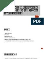 Diapositivas Globalizacion