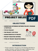 Project Selection PPT
