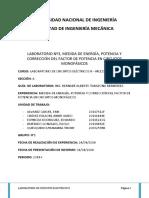 Lab n3 Medicion de Energía