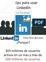 Tips para usar Linked In