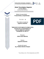 Aplicación de seis sigma en la mejora de los procesos de no conformidad en calidad.docx