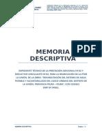 01. Memoria Descriptiva