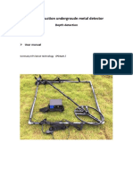 Pulse Induction Metal Detector Vmd-800