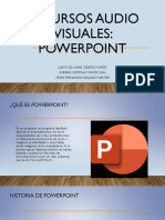 Presentacion PowerPoint Recursos Audio Visuales