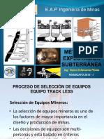 MÉTODOS DE EXPLOTACIÓN SUBTERRANEA  8va SEMANA 2015 I.pptx
