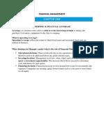 Financial Management II Booklet it u