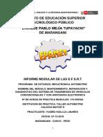 Modelo de Informe Virtual de e.f.s.r.t - Modulo 04 (Mecatronica Automotriz)