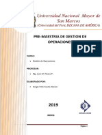 Pre-Maestria Operaciones - Sergio Acuña