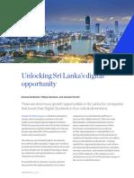 Unlocking Sri Lankas Digital Opportunity Mckinsey