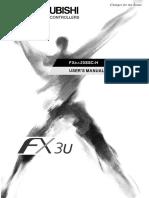 Mitsubishi Fx3u 20ssc h Sscnet Motion Users Manual