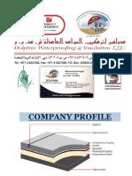 Company Profile Dolphin Waterproofing LLC