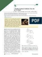 pyridino-cyathane diterpenoids