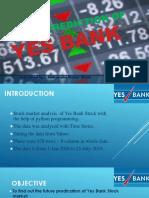 Stock Predication of Yes Bank