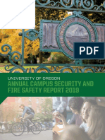 UO Annual Campus Security and Fire Safety Report 2019