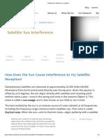 Satellite Sun Interference _ Intelsat