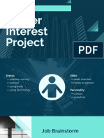 career interest project